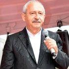 Kemal Kılıçdaroğlu CHP'nin Kayseri mitinginde yağmur altında konuştu