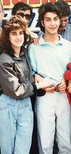 Hakan Yılmaz'ın gençlik fotoğrafı
