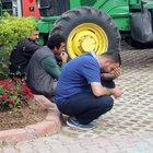 Adana'da bir kişi oturduğu sandalyeden düşüp, öldü