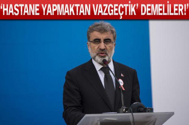 Enerji Bakanı Yıldız konuştu