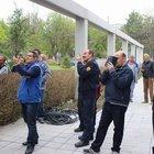 Kayseri'de intiharı çay içip izlediler