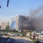 İstanbul'da korkutan otel yangını