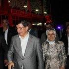 Davutoğlu, MHP seçim bürosunu ziyaret edip, partililerle 15 dakika görüştü