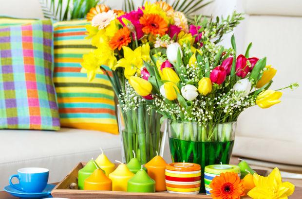 Baharı evinizde böyle karşılayın