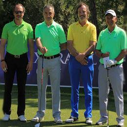 Golf tutkunları Antalya'da