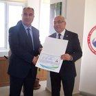 İstanbul Gümrüğü'ne başarı ödüllü müdür