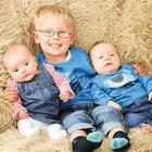 Üçüzler 2 yıl arayla doğdu