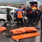 Ardahan'da zincirleme kaza