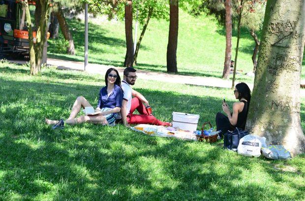 Maçka'da Piknik