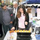 Sancaktepe'de öğrenciler bilimsel projelerini sergiledi