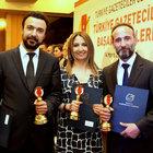 Türkiye Gazeteciler Cemiyeti'nden Habertürk Gazetesi'ne 3 ödül