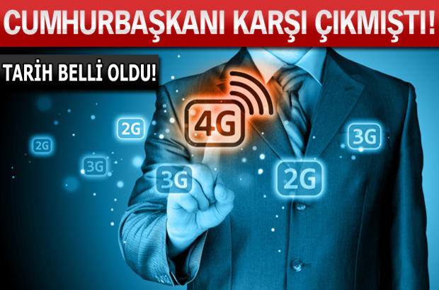 4G ihalesi yapılacak mı?