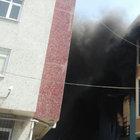 İstanbul'da  fabrikada büyük yangın