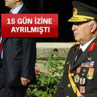 Orgeneral Necdet Özel, NATO toplantısıyla dönebilir