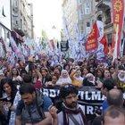 Taksim'de, HDP saldırısına tepki yürüyüşü