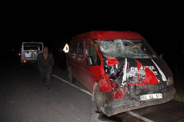 Sivas'ta feci kaza