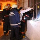 Tarihi Taksim Tüneli'nde çıkan yangın paniğe yol açtı