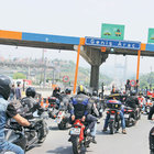 Motorculardan FSM'de geçiş ücreti protestosu