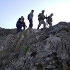 Dağda mahsur kalan 2 çocuğu Jandarma ve AFAD kurtardı