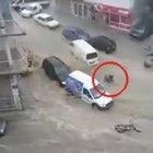 İzmir'deki sel görüntüleri kamerada