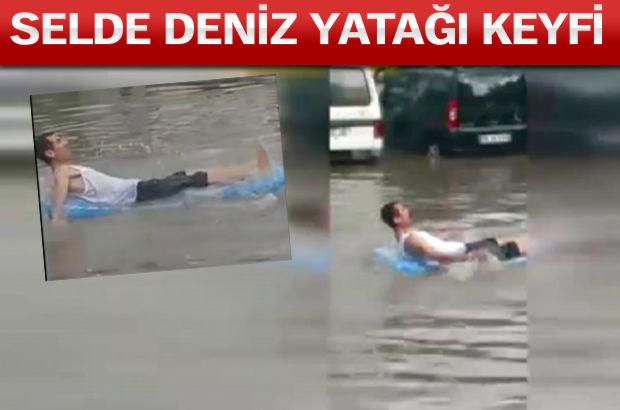 İzmir'den ilginç görüntüler