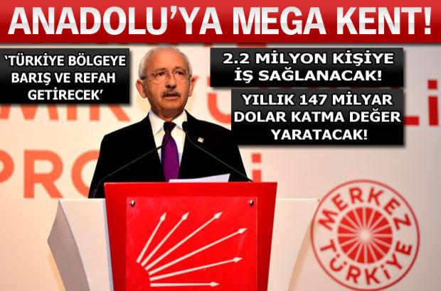 CHP lideri Kemal Kılıçdaroğlu 'yüzyılın projesini' açıkladı!