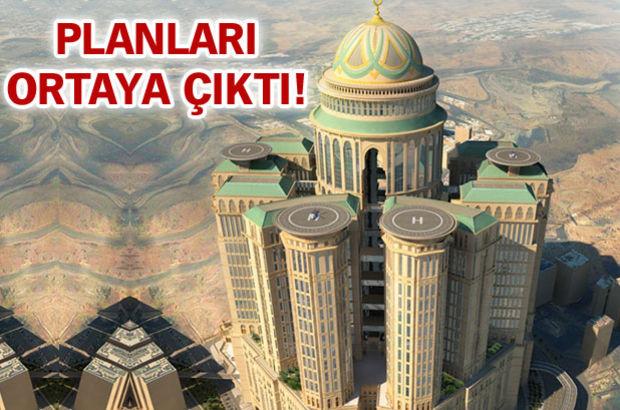 Dünyanın en büyüğü Mekke'de yükseliyor!