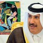 Picasso'nun 180 milyon $'lık tablosunu kraliyet ailesi aldı