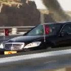 Cumhurbaşkanı Erdoğan makam aracı ile köprüde ilk sürüşü kendisi yaptı