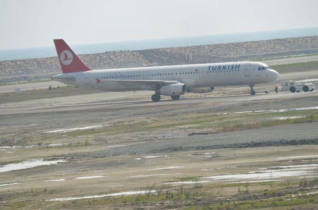 Ordu-Giresun Havalimanı'na ilk uçak indi!