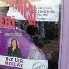 HDP'nin Kars'taki seçim bürosuna taşlı saldırı