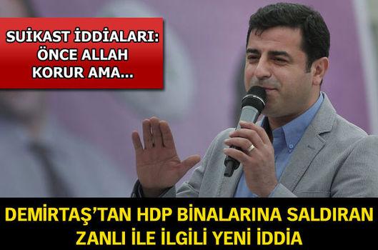 Demirtaş'tan bombacı ile ilgili yeni iddia!