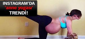 Hamilelikte yoga yapan kadınlar instagram'ı salladı!