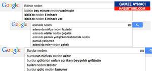 Google memleketleriniz hakkında bu sorulanları yanıtlıyor...