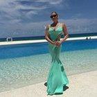 Anastasia Volochkova'nın tatil pozları