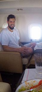 İdo Tatlıses'ten uçak pozu