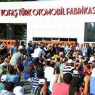 TOFAŞ ve Mako'da işçiler eylemi sonlandırdı