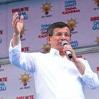 Başbakan Davutoğlu'ndan Karabük mitinginde önemli açıklamalar
