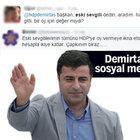 Selahattin Demirtaş'ın 'eski sevgili' çağrısına twitter'dan tepkiler