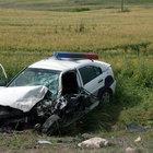 Trafik kazası geçiren polis şehit oldu