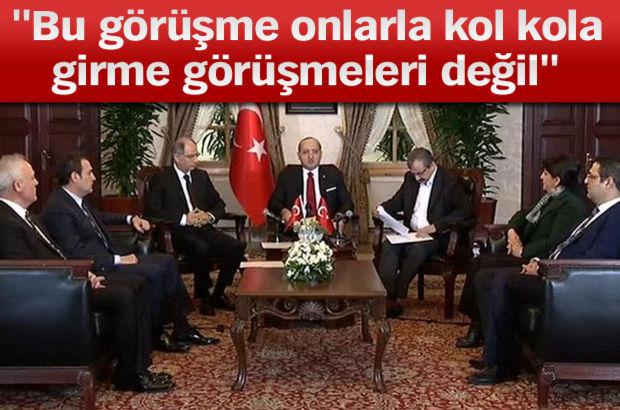 Yalçın Akdoğan'dan çözüm süreci ile ilgili açıklama