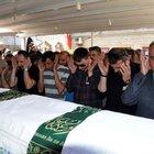 Levyeli kavgada öldürülen öğretmen son yolculuğuna uğurlandı