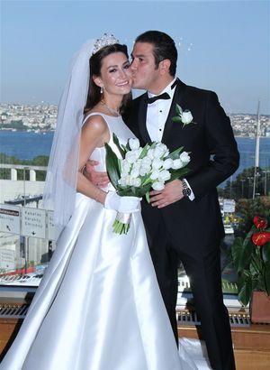Evren Teker ile Mina Yıldırım evlendi