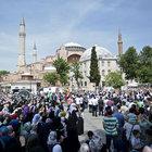 Ayasofya Meydanı'nda Mursi eylemi