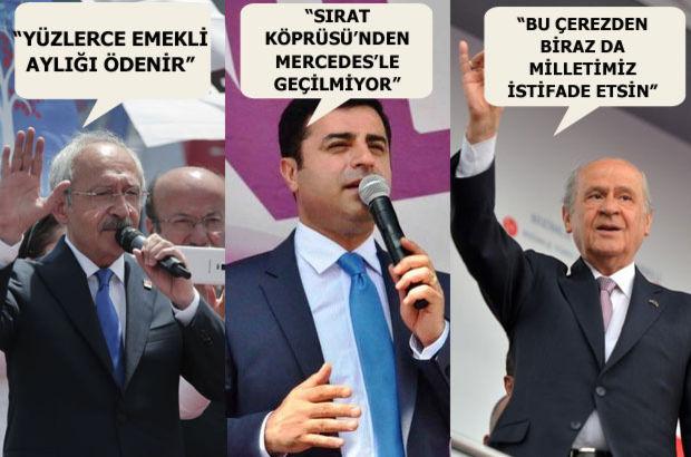 Kemal Kılıçdaorğlu devlet bahçeli selahattin demirtaş maliye bakanı mehmet şimşek mercedes makam aracı mhp chp hdp