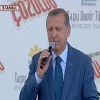 Cumhurbaşkanı Erdoğan Sultanbeyli'de: Bize bunu yediremezsiniz