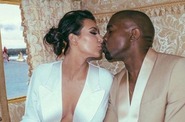 Kim Kardashian'dan çıldırtan poz