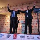Milli İttifak liderleri  Tokat'ta seçmene seslendi