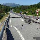 'Sakin Şehir' Taraklı'nın yolu çöktü