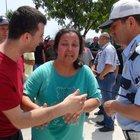Mersin'de, çocuğu gözleri önünde ölen anne, şoka girdi